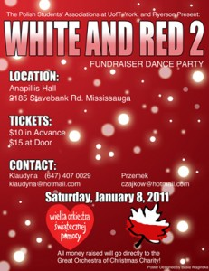 White and Red Dance Party